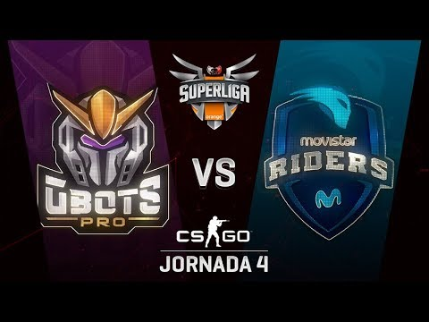 GBOTS VS MOVISTAR RIDERS - MAPA 2 - SUPERLIGA ORANGE - #SUPERLIGAORANGECSGO4