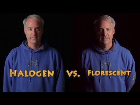 Cheap Halogen Work Lights vs Expensive Fluorescent for DSLR Video