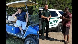 ''GOLFCART GAIL'' CALLED THE POLICE ON BLACK FATHER