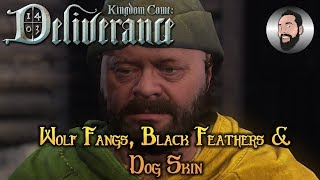 How To Get Wolf Fangs, Black Feathers & Dog Skin | Kingdom Come: Deliverance