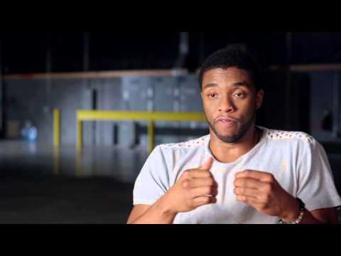 "Captain America Civil War Behind-The-Scenes ""Black Panther"" Interview - Chadwick Boseman"