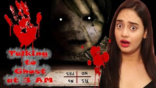 Playing Charlie Charlie HAUNTED Game at 3AM with our FRIENDS | *GONE WRONG*  | Mishra Twins