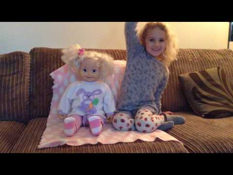 Cricket doll sings 'Raise Your Hand!'