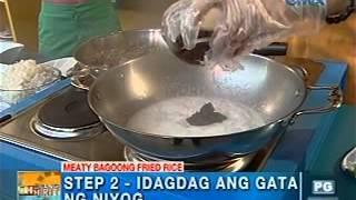 Download lagu Unang Hirit: Kitchen Hirit: Meaty Bagoong Fried Rice a la Mariz Umali