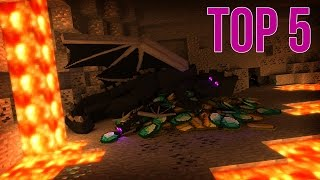 Top 5 Ender Dragon Minecraft Animations