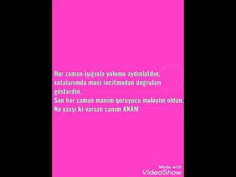 Anaya aid video status üçün💜❤