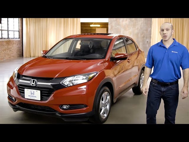2018 Honda HR-V Virtual Tour with Features Review