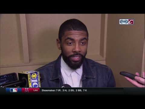 Kyrie Irving on LeBron James: 'He still amazes me' | Cavs-Pacers Game 3 postgame