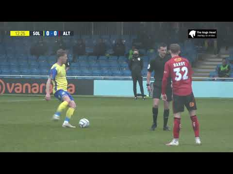 Solihull Altrincham Goals And Highlights