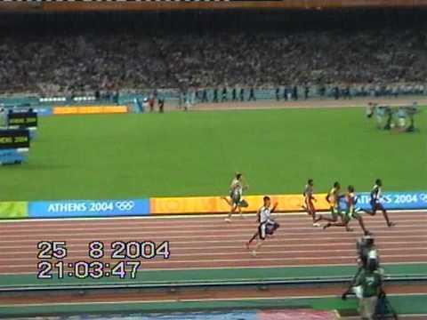 Matic Osovnikar 200m OI Atene 2004