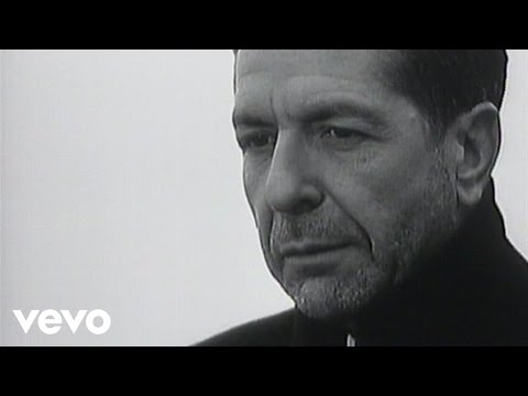 Leonard Cohen - First We Take Manhattan (Promo video - 1988)