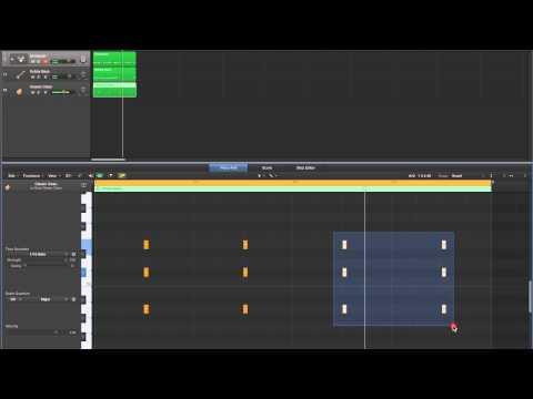 Logic Pro X Making Reggae & Dub (4) Lovers/roots bounce beat