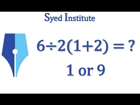 6÷2(1+2) = ? | Correct Answer Inside Finally Solved!!