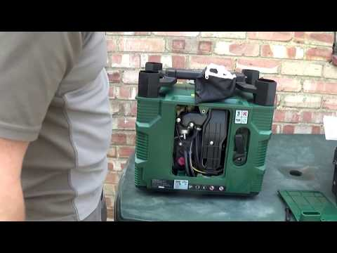 Parkside (Lidl) PGI 1200 B2 Inverter Generator Test