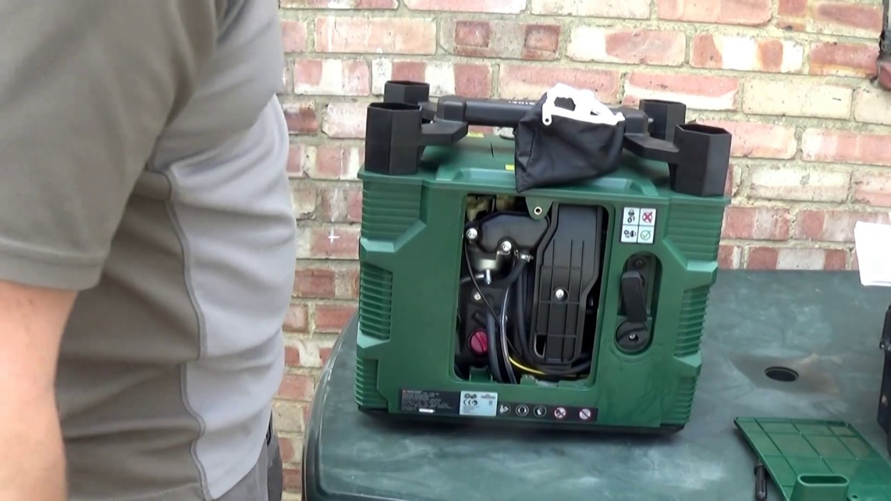 Parkside Lidl Pgi 1200 B2 Inverter Generator Test Youtube Welding Machines Diagram