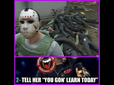 GTA 5 ONLINE YOU GONNA LEARN TODAY WHAT MY BULLET FEEL LIKE TODAY