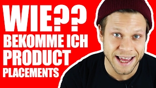 🦄 WIE BEKOMME ICH PRODUCT PLACEMENTS? 🦄 | #FragDenDan