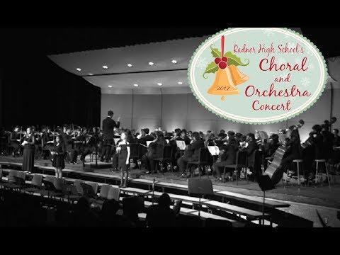 Radnor High School's Choral & Orchestra Concert 2017