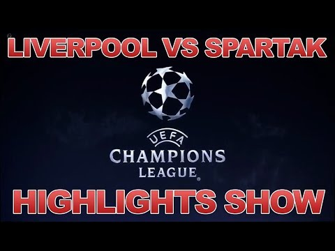 Liverpool vs Spartak Moscow 7-0. Champions League highlights show HD