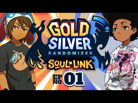 AN ACTUAL DECENT START??? - Pokemon Gold & Silver Randomized Soul Link w/ Sacred #01