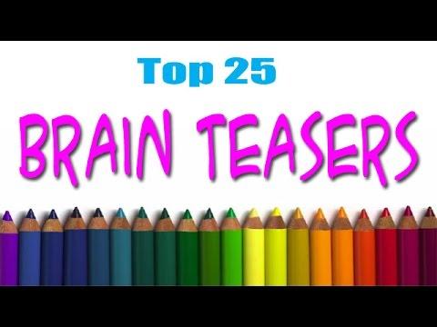 Top 25 Brain Teasers   QPT