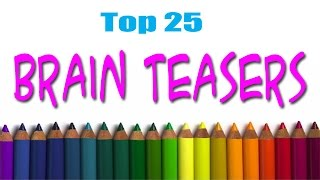 Top 25 Brain Teasers