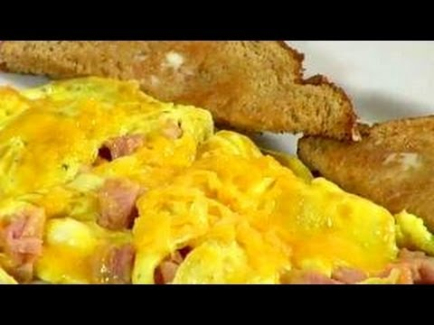 How To Make An Omelette Ham And Cheese Omelette Recipe