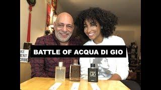 Battle of Acqua di Gio vs Profumo vs Absolu with Tiff Benson