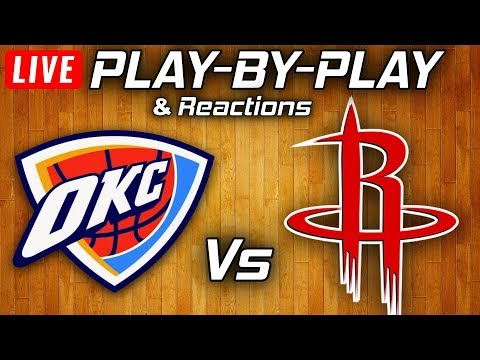 Thunder Vs Rockets | Live Play-By-Play & Reactions