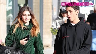 Thylane Blondeau Reveals The Proper Way To Say Her Name While Leaving Lunch With Samuel Bensoussan