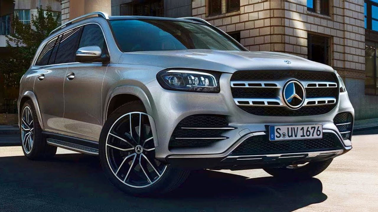 2020 mercedes gls x167 - new flagship luxury suv without camouflage