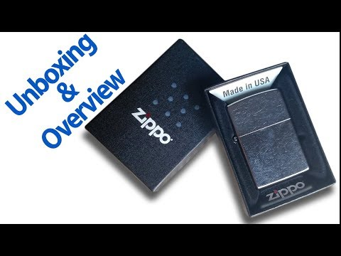 Zippo Lighter Unboxing and Overview