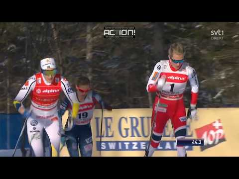 Stina Nilsson takes her 3rd(!) world cup victory of the season - Sprint (C) WC Planica 2018