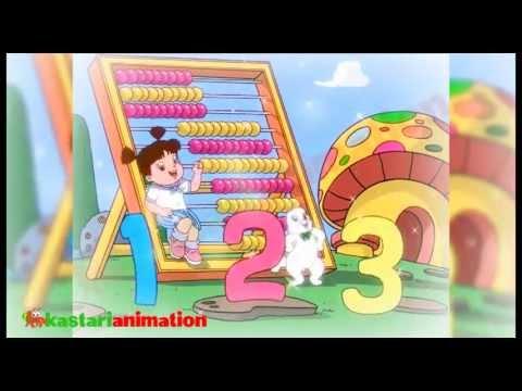 Lagu Anak Indonesia - Belajar Berhitung - Kastari Animation Official