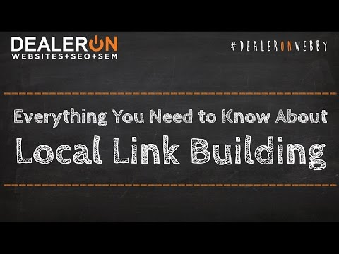 Everything You Need to Know About Local Link Building