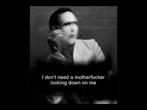 Marilyn Manson - The Devil Beneath My Feet (lyric)