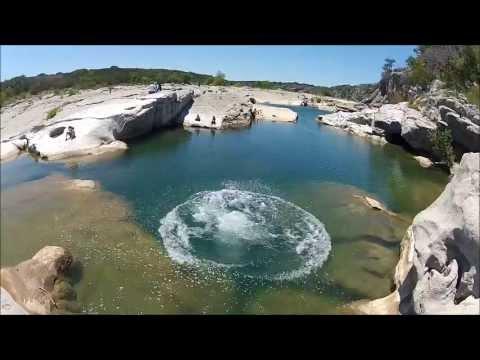 Pedernales Falls state park TX September 2013 - YouTube