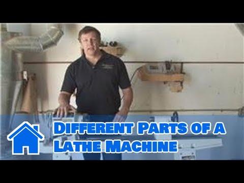 Wood Lathe Techniques : Different Parts of a Lathe Machine