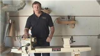 Wood Lathe Techniques : Different Parts Of A Lathe Machine