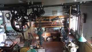 OLD TIME STEAM POWERED MACHINE SHOP 4