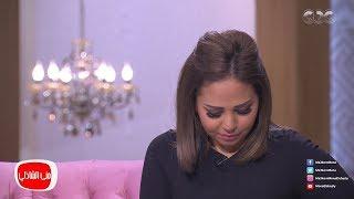 بالفيديو  الفنانة سوما تبكي على الهواء بسبب أخيها