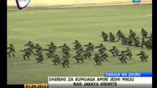 SHEREHE ZA KUMUAGA AMIRI JESHI MKUU DKTKIKWETE- SEPTEMBER 1 2015 TBC