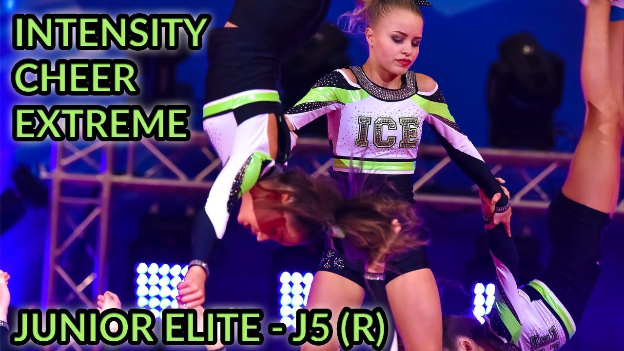 intensity cheer extreme - junior elite