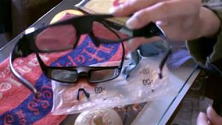 how to clean ur 3d glasses pt.1