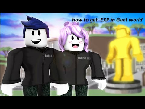 Guest World Roblox Preview Roblox Guest World Quick Ways To Get Exp Youtube