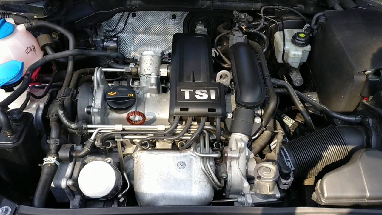 volkswagen 1 2 tsi bluemotion 2012 engine youtube