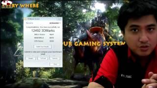 Review MSI GX60 in BAHASA - AMD Trinity A10 4600M Quad Core and AMD Radeon HD7970M 2GB