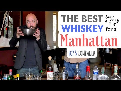 The Best Whiskey For A Manhattan (Top 5 Most Recommended Whiskeys)