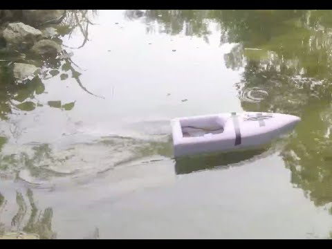 DIY RC Boat Build (Part 3: Test Run)