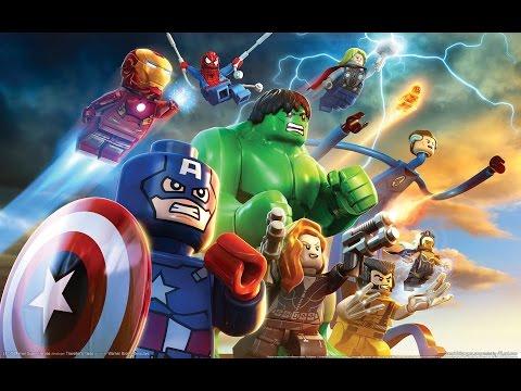 игра мультик Лего супер герои марвел железный человек и халк # 1 лучшие игры HD